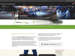 Détails : patinoire mobile