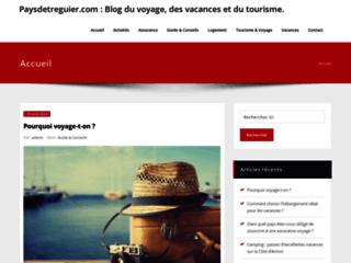Site de l'Office de Tourisme du Pays de Tréguier