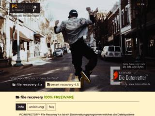 PC Inspector File Recovery - Software gratuito per il Recupero dati - Convar