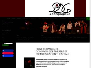 Capture du site http://www.pdg-compagnie.fr/