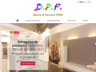 Peintures DPF à Gerstheim