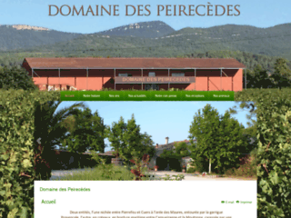 Détails : Domaine des Peirecèdes