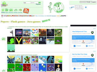 Info: Scheda e opinioni degli utenti : Pepere.org - Giochi Flash e Giochi Java Gratis, free, Gioca Online