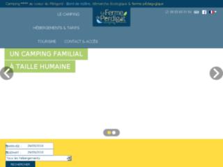 Détails : La Ferme de Perdigat camping à Bergerac