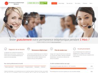 Détails : secretariat telephonique et permanence telephonique pour les medecins et le secteur medical - agenda médical en ligne