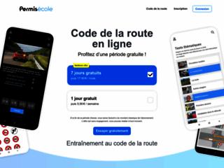 Code de la route avec Permisecole.com
