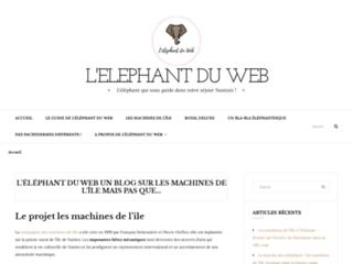 Détails : L'éléphant du web : le blog sur les machines de l'île