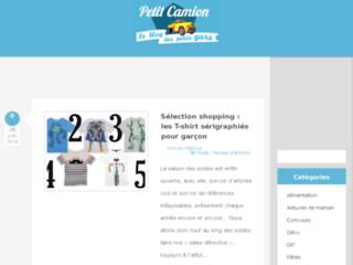 Blog mode enfants par Petit Camion