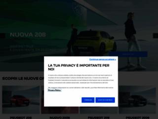 Peugeot auto Italia: Sito ufficiale di Peugeot Auto Italia