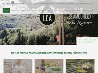 Homéopathie, produits naturels, phytothérapie PACA sur http://www.pharmacie-des-palmiers.fr