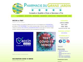Pharmacie du Grand Jardin sur http://www.pharmaciedugrandjardin.com