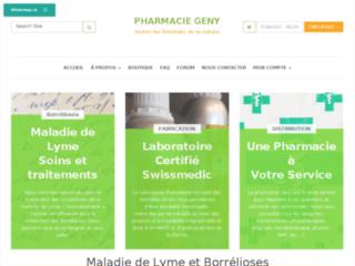 Aperçu du site Borrélioses, traitements et soins