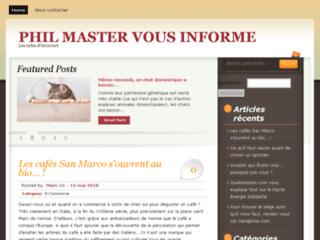Détails : http://philmaster.fr