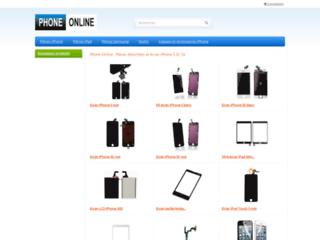 Détails : Achat écran iPhone 5C et pièces détachées