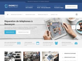 Détails : Réparateur de téléphones et PC à Besançon