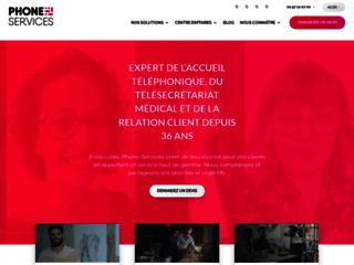 Phone Services : le spécialiste en accueil téléphonique et relation client en France
