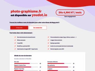 Capture du site http://www.photo-graphisme.fr