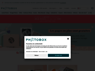PhotoBox.fr, le specialiste du tirage photos