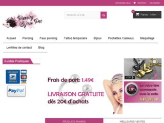 Piercings et bijoux de qualité à prix discount