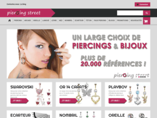 Bijoux piercings
