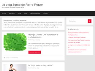 Détails : Le blog santé de Pierre Fraser