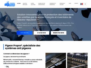 Détails : PIGEON PROPRE, des solutions anti-volatiles