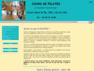 Cours de Pilates à Paris sur http://pilatesparis.free.fr