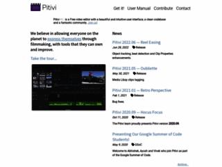 Info: Scheda e opinioni degli utenti : PiTiVi - Editor Video libero e open source per Linux