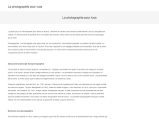 Capture du site http://www.pix-populi.fr