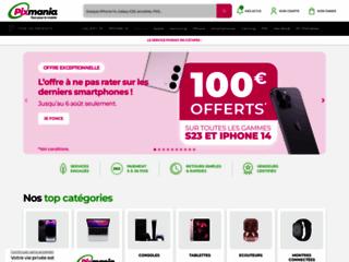 Aperçu du site Pixmania