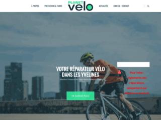 Capture du site http://www.planet-velo.fr