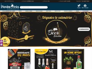 Les vins, spiritueux et bières sur Planète Drinks