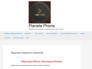 Capture du site http://www.planetephone.fr