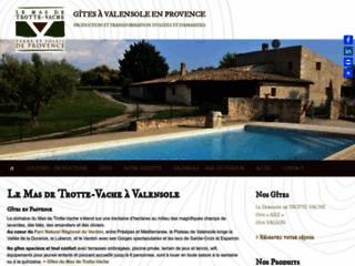 Au Mas de Trotte Vache - Amande, Olive, Gites ruraux en Provence