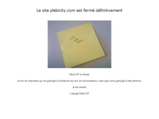 Plebicity - L'Avis du consommateur - Le 1er site de Bouche a Oreille