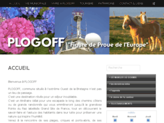Plogoff - Site officiel.