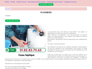 Plombier artisan express