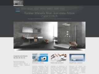 Capture du site http://www.plombier-marseille.com