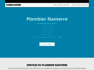 Plombier Nanterre