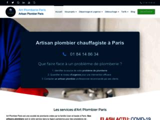 Détails : Art Plomberie Paris