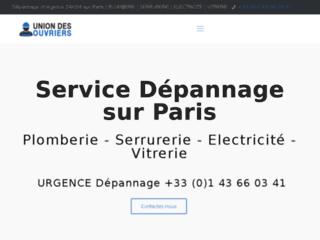 Les prestations de l'union des ouvriers de Paris