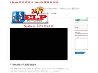 Help Riviera, Plombier à Mandelieu