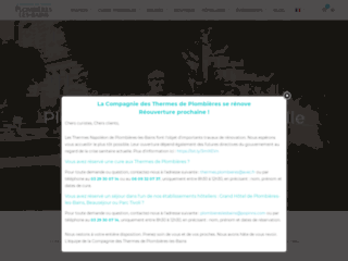 Plombi�res spa romain & gastronomie