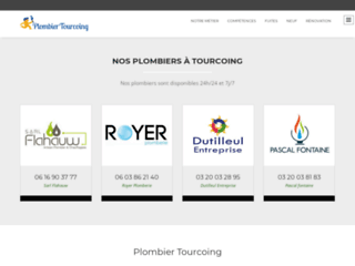 Plombier Tourcoing