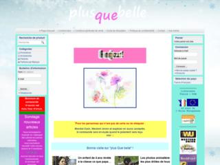 Vente en ligne de maquillage, parfum, cosmétique sur http://www.plus-que-belle.com