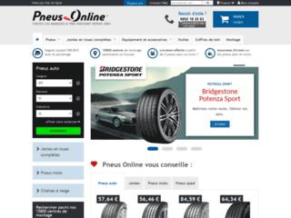 PNEUS ONLINE : vente en ligne de Pneus à prix discount