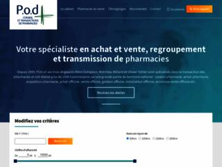 Spécialiste de la vente et de l'achat de pharmacies en France