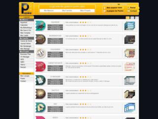 Capture du site http://www.poinka.com