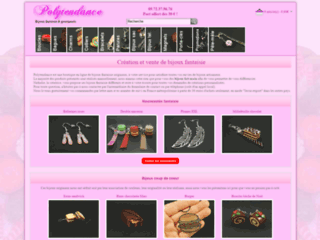 Aperçu du site Polytendance