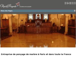 Poncage Marbre Paris